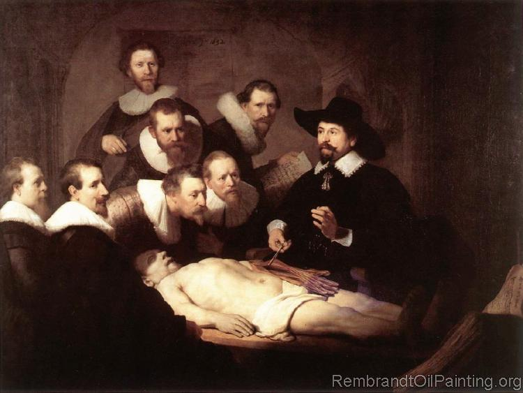 The Anatomy Lesson of Doctor Tulp